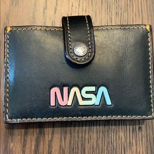 Coach NASA themed snap wallet NWT